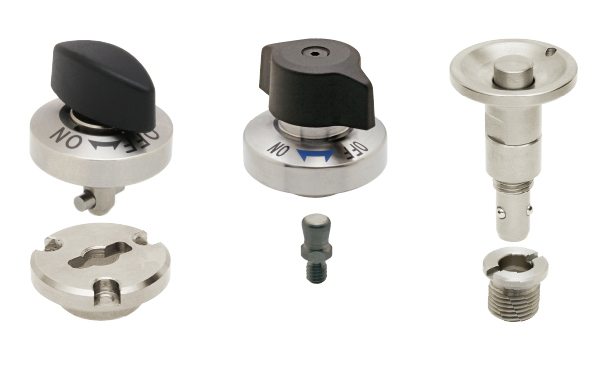 Quick locks for changeover - One-Touch Fasteners | IMAO