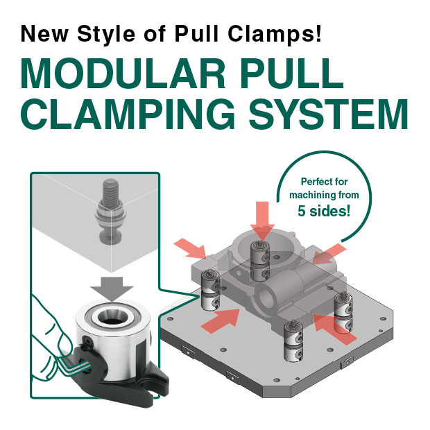 Modular Pull Clamping System
